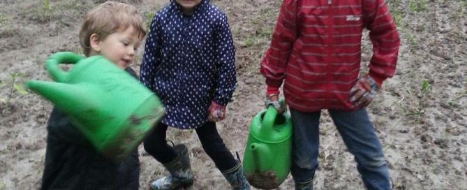 Kids on ATH farm