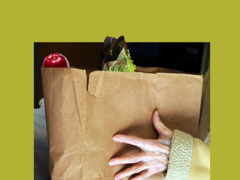 Fruit and Vegetables Grocery Bag