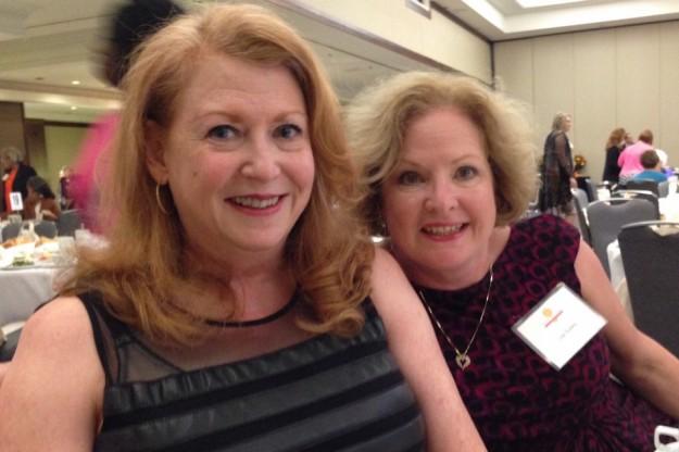 Christina, Lisa at Circle of Hope awards