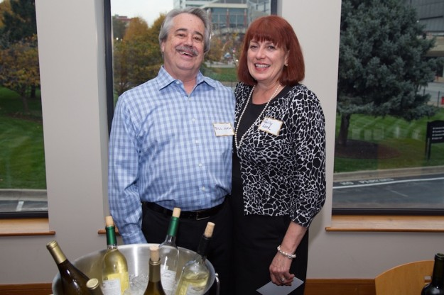 Sally and Bill Luck at Harvest Happy Hour