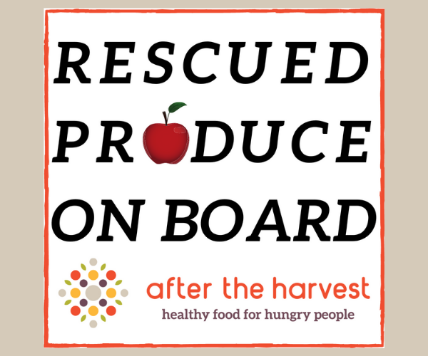 Cling for produce rescue drivers