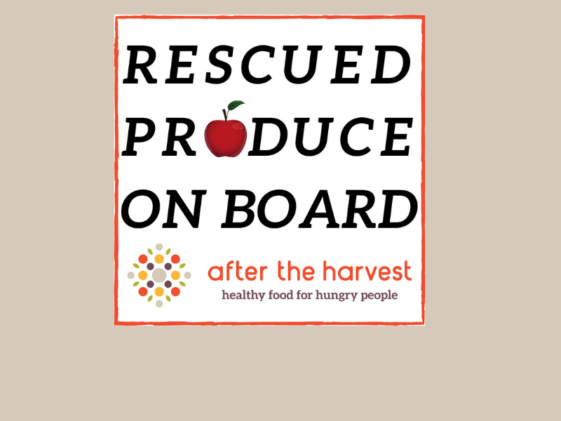 Cling for produce rescue driver