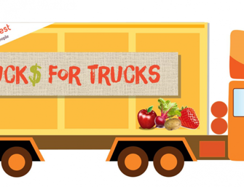 Buck$ for Trucks: Help rescue truckloads of produce & spread the word